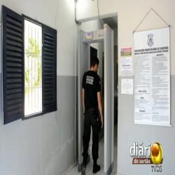Detector Detronix em penitenciária da Paraíba