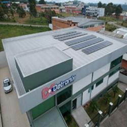 Detronix instala sistema fotovoltaico em sua unidade